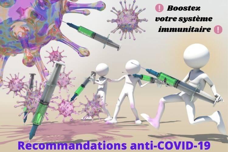 Covid-19: Les Recommandations pour Renforcer son Système Immunitaire